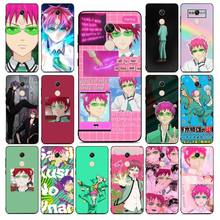 MaiYaCa The Disastrous Life of Saiki K Saiki Kusuo Poster Phone Case for RedMi note 4 5 7 8 9 pro 8T 5A 4X case