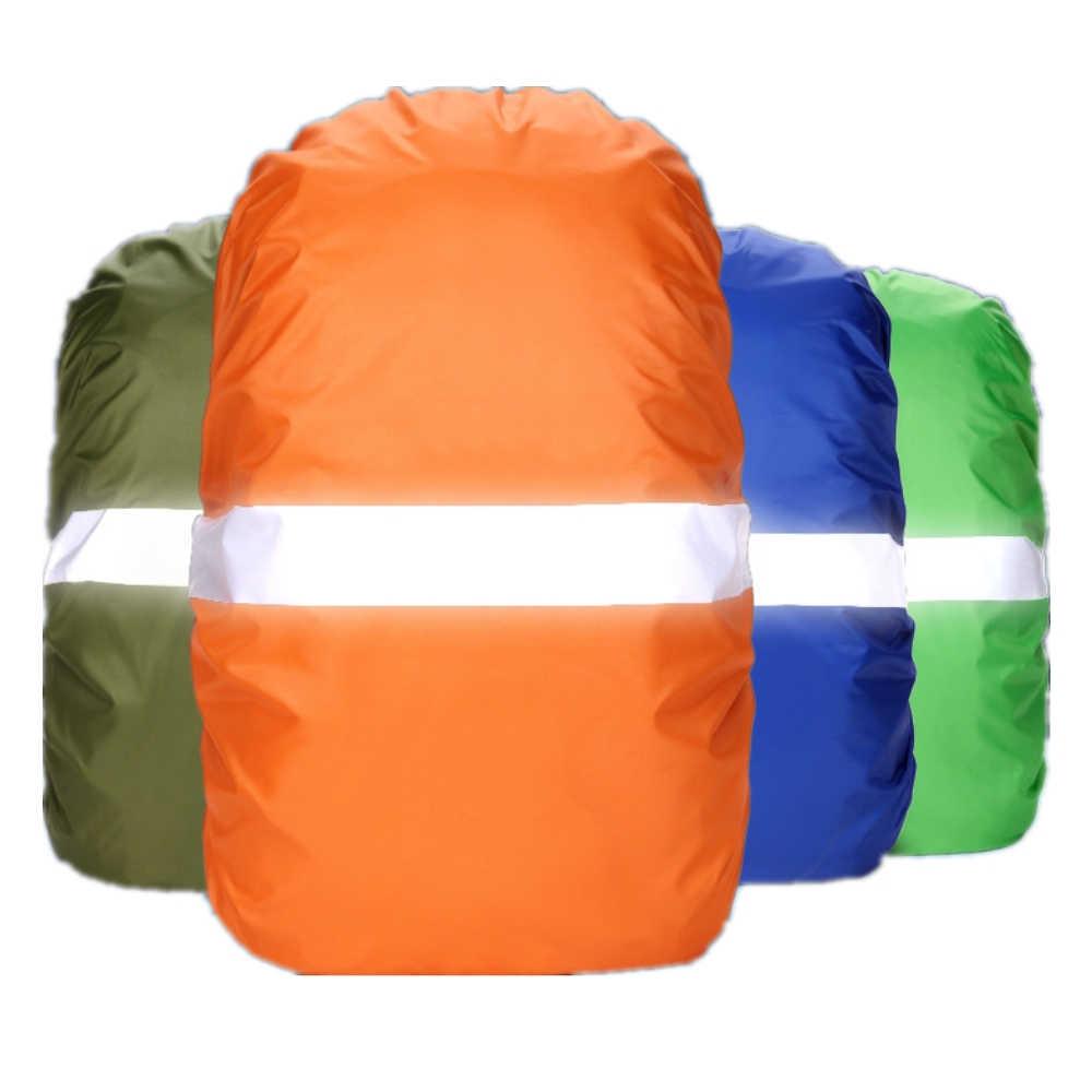 Regen Abdeckung Rucksack Reflektierende 20L 35L 45L 60L Wasserdichte Tasche Camo Taktische Outdoor Camping Wandern Klettern Tasche Staub Regenschutz