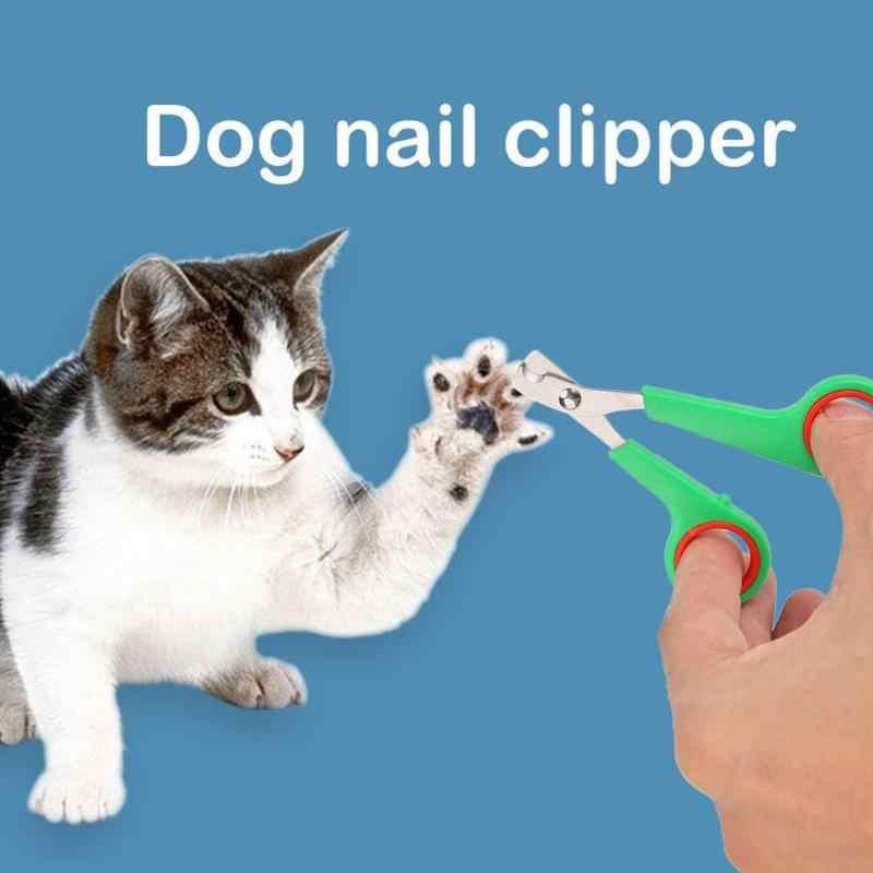 In Acciaio Inox Pet Forbici Tagliatore di Chiodo della Punta Dog Cat Claw Attrezzi strigliatura e tolettatura Trimmer