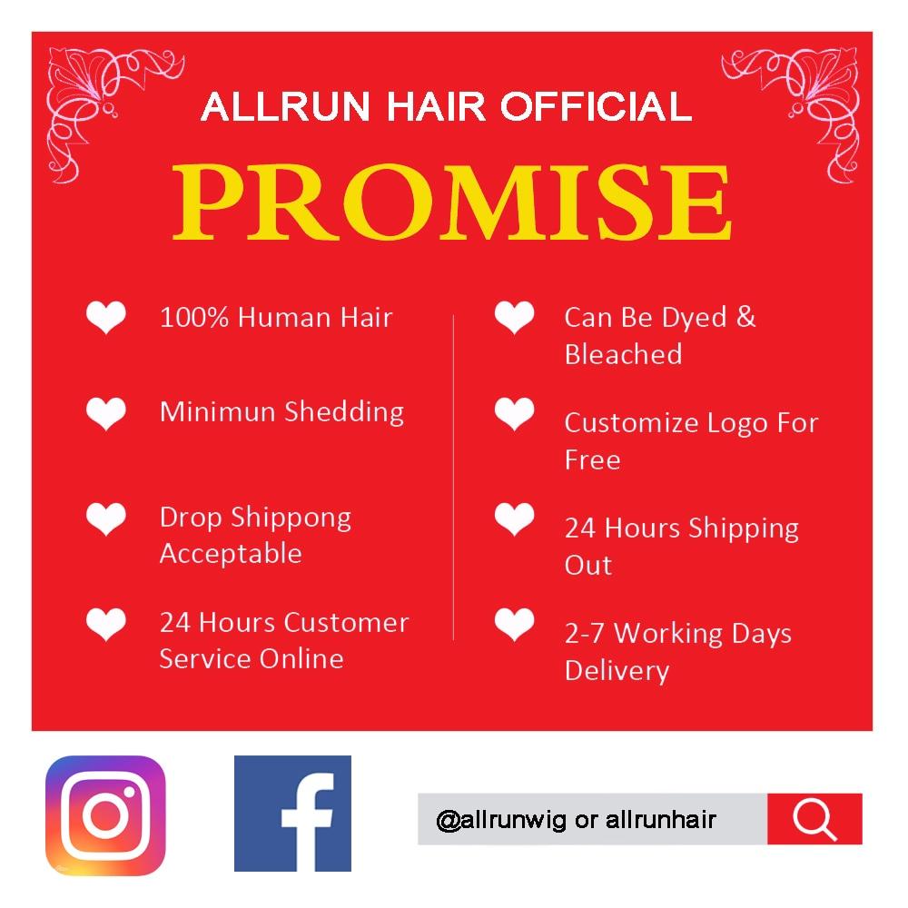 60 Grams Allrun Malaysian Straight Hair Bundles With Frontal Closure 13*4 Human Hair Bundles With Closure With Bundles Non Remy