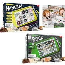 Набор для сбора образцов минерального камня детей 15 шт Геологическая