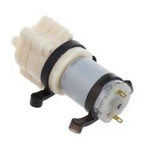 цена на Priming Diaphragm Mini Pump Spray Motor DC 12V Micro Diaphragm Pump with Fixed Ring For Water Dispenser