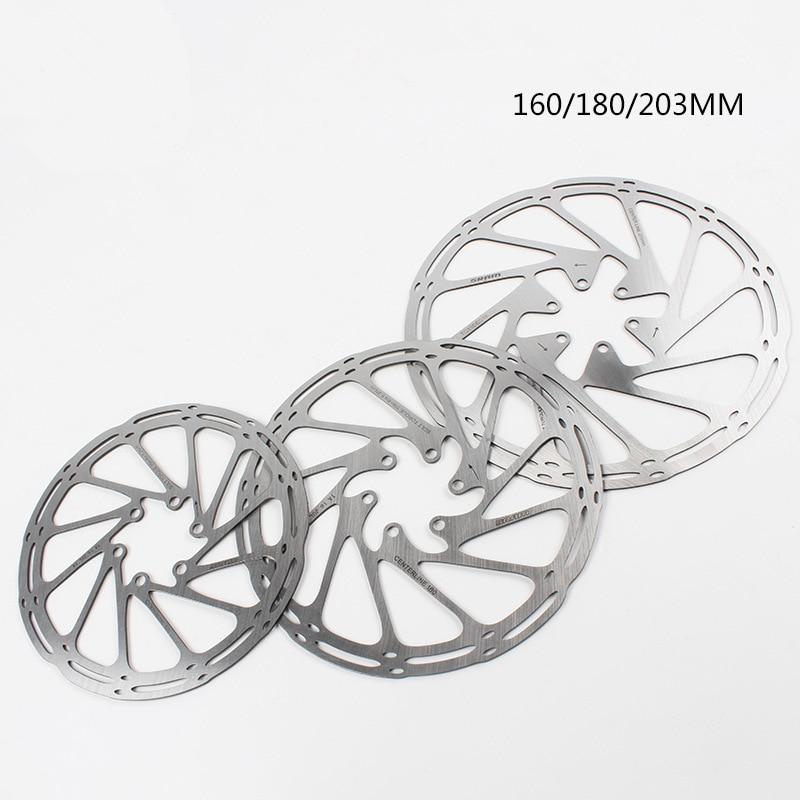 Center Line 160 180 200mm 6 Bolts Rotors Mountain Bike Disc Brakes MTB Parts