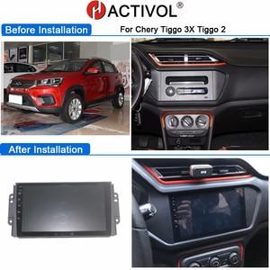 Image 5 - 4G WIFI 2G 32G אנדרואיד 9.0 2 דין רכב רדיו עבור Chery Tiggo 3X tiggo 2 3 autoradio магнитола רכב אודיו автомагнитола רכב סטריאו