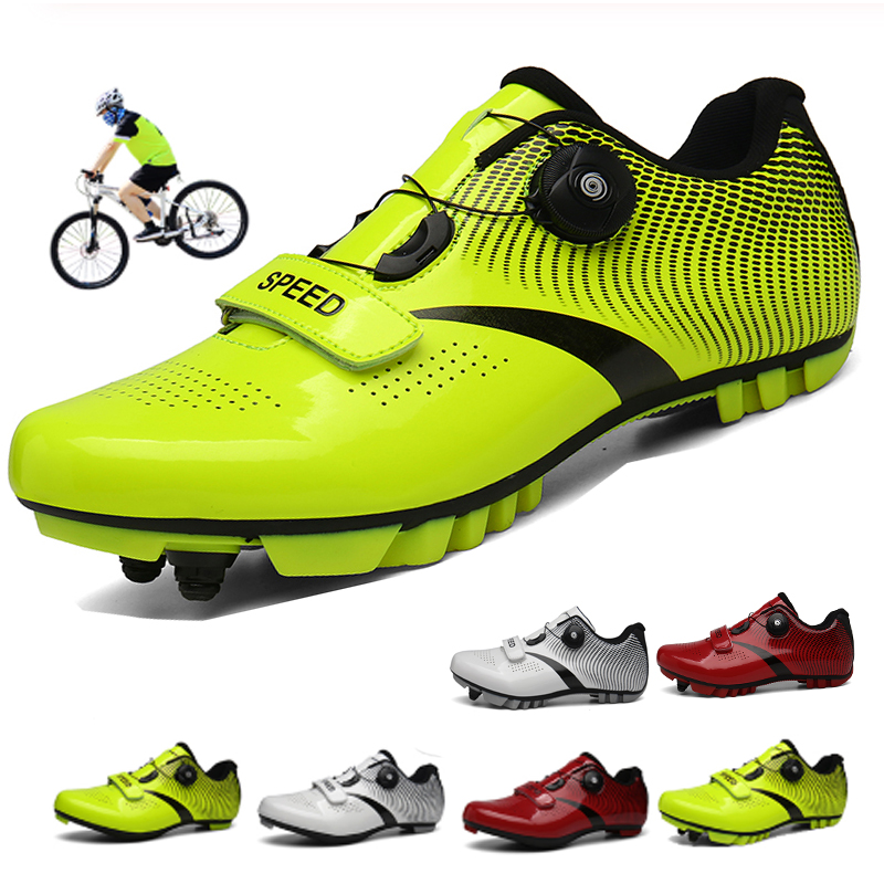 Cycling Shoes Sapatilha Ciclismo Mtb Men Sneakers Women Mountain Bike Shoes Self-Locking Superstar Original Bicycle Shoes