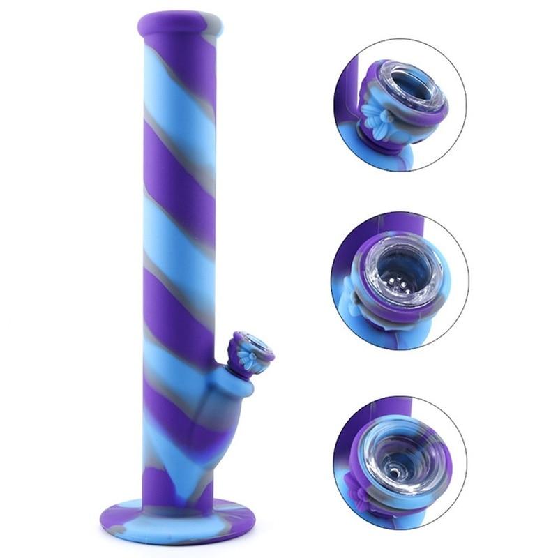 1PC hookah tips Silicone Water Pipe Bowl Hookah Bowls Shisha Bowls High Temperature For Smoking Water Bong Smoke Pipe Bowls 6