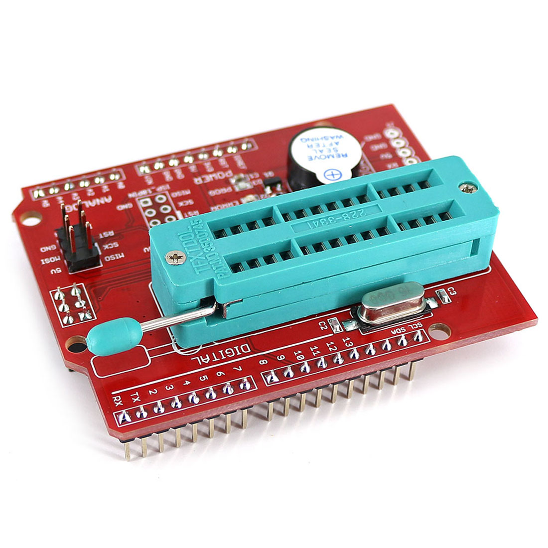 High Quality AVR ISP Shield Burning Bootloader Programmer For Arduino UNO R3  Programable Toys Accessories