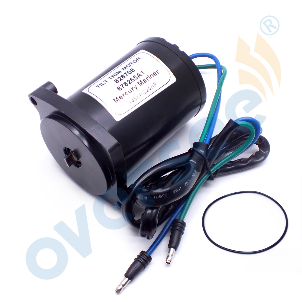 10826 Tilt Trim Motor For Mercury Marine Outboard Motor Parts 135-225HP 828708 878265A1