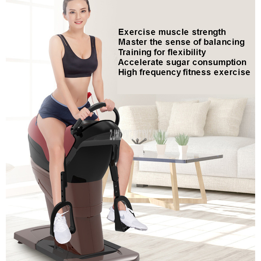 Ménage intérieur électrique équitation Machine équitation exercice Machine corps minceur formation Fitness perte de poids équipement 220V - 6