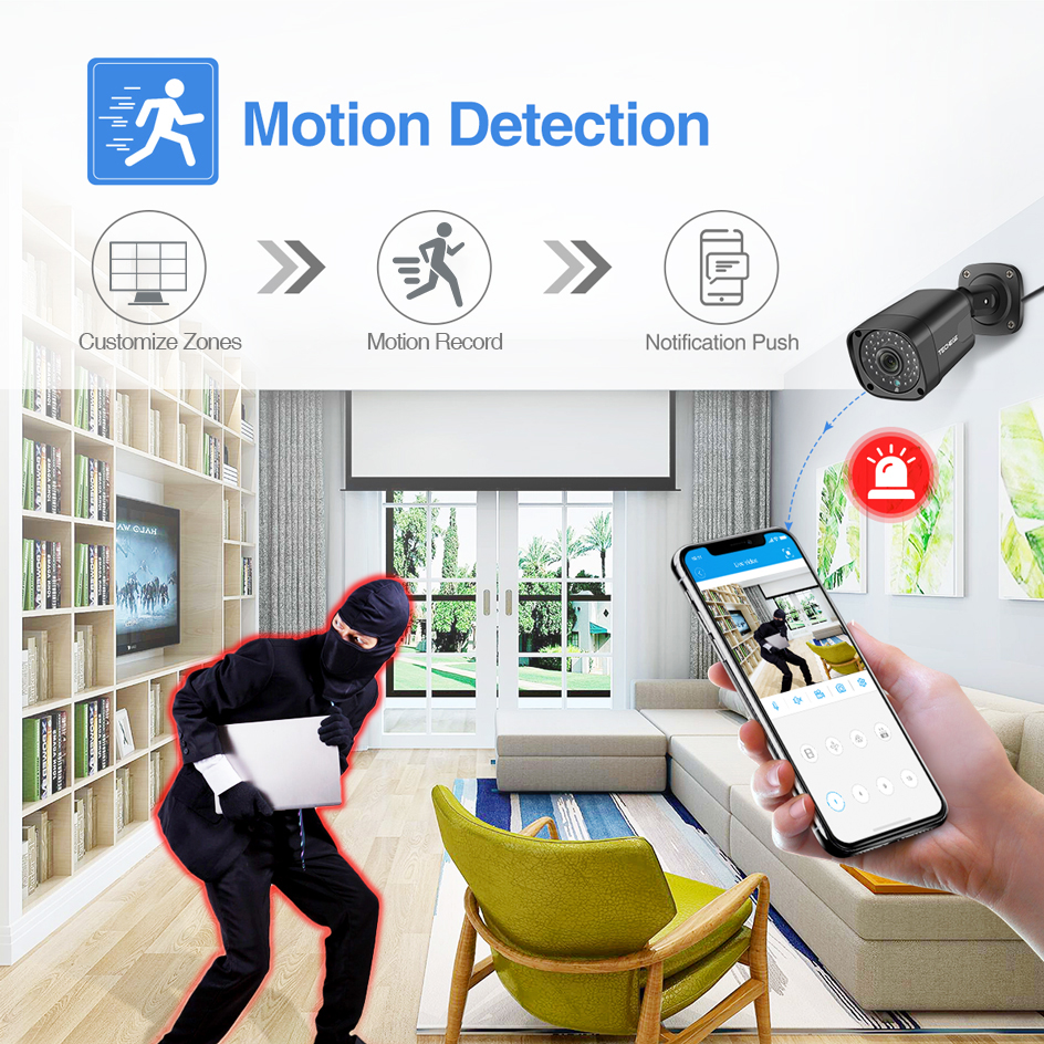 ╓Ultimate SaleTechege Cctv-Camera-System Surveillance-Kit Poe-Ip-Camera Video-Security Outdoor NVR¼
