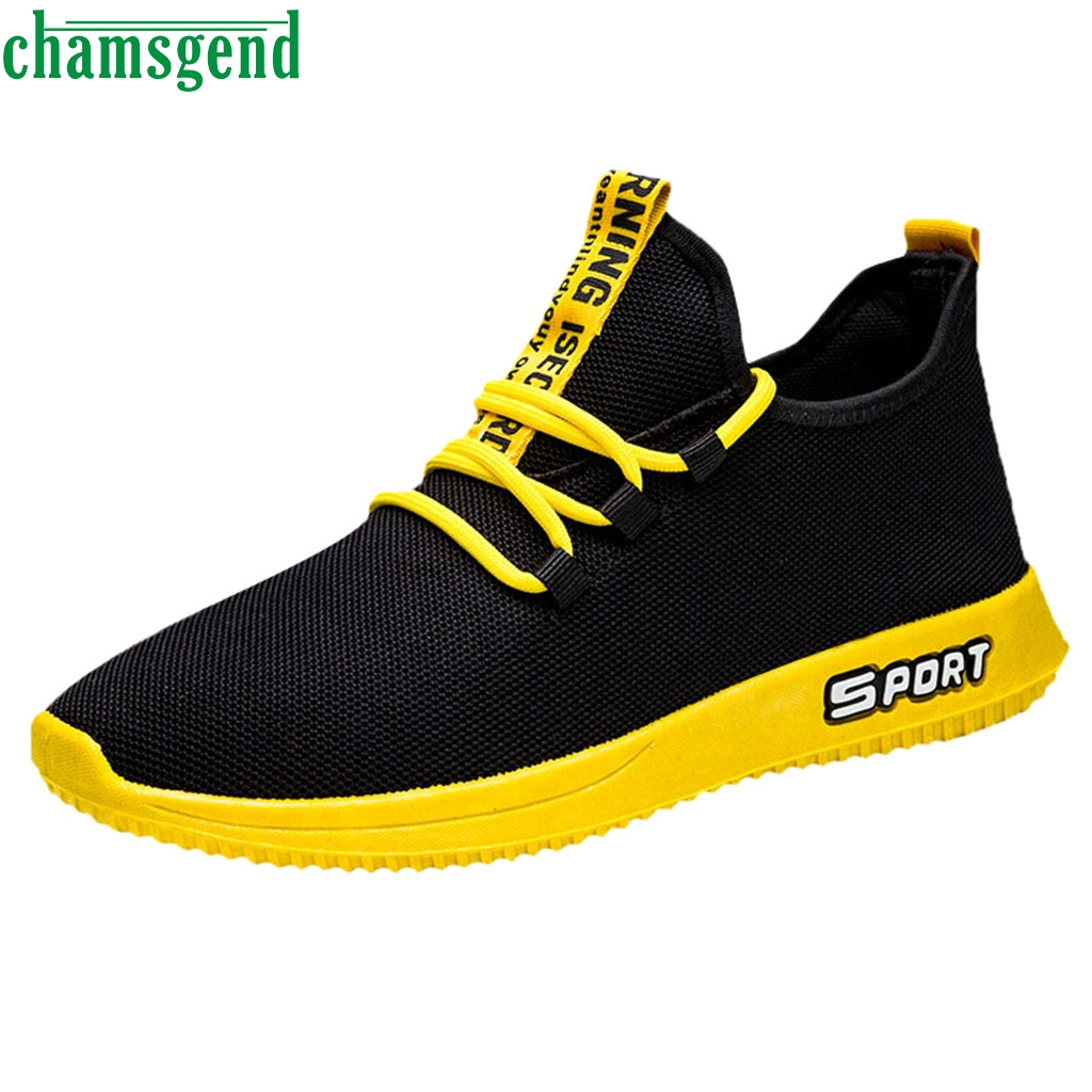 CHAMSGEND Shoes Fashion Men Mesh Walking Shoes Comfortable Running Sport Sneakers Breathable Shoes Sport Feminino Zapatos     09