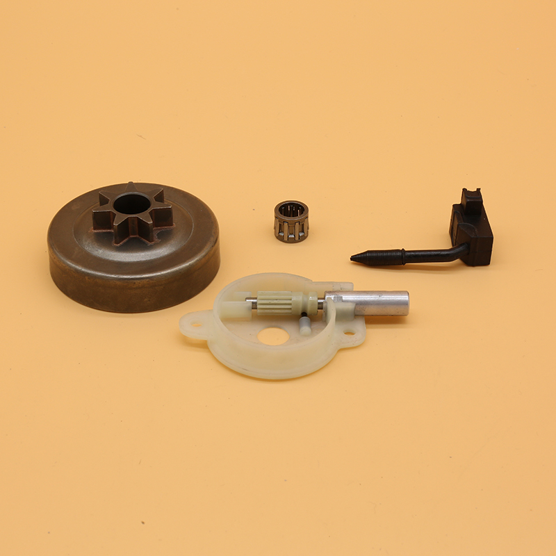 Drum Oil Pump Oiler Needle Bearing Kit For Husqvarna 136 137 141 142 Garden Chainsaw Spare Parts