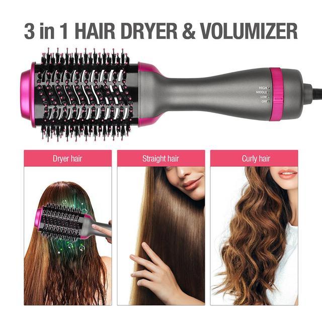 Multifunctional Hot-Air Brushes 3 In 1 Hair Dryer 2