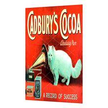 Cadbury coca metal vintage estanho sinal estilo chique gasto revista poster decoração da parede 8x12 Polegada