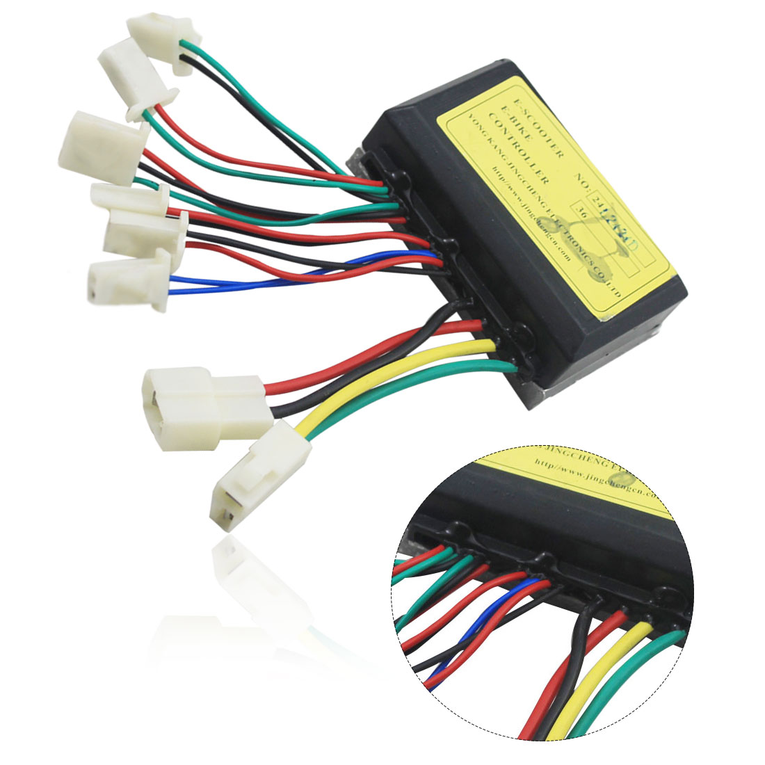24V 250W Electric Scooter Controller Scooter Motor No Brush Controller For Mobility Electric Bicycle Accessories