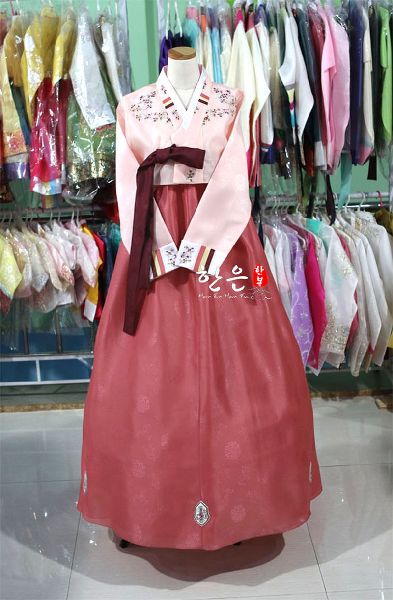 South Korea Imported Fabrics / South Korea's Latest Improved Hanbok / Stage Costumes