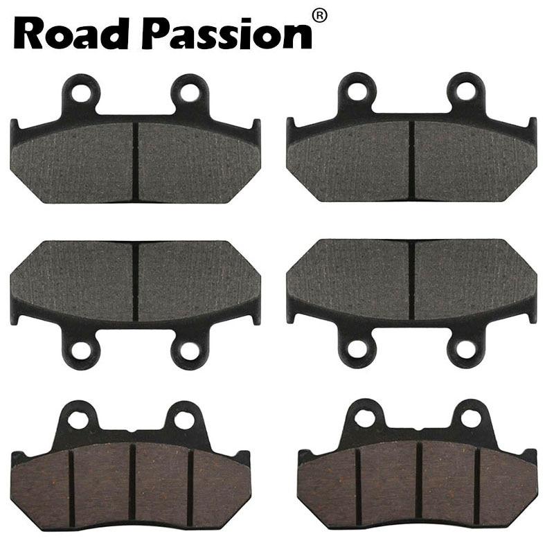 REAR BRAKE PADS fits HONDA GL 1500 Valkyrie 1996-2003 GL1500