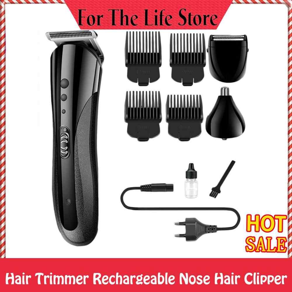 KEMEI KM-1407 多機能充電式電気鼻毛電気髭シェーバー
