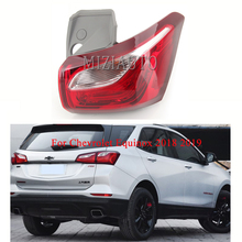 MIZIAUTO 1PCS Rear tail lights Out side For Chevrolet Equinox 2018 2019 Outside Brake Light Tail lamps Bumper