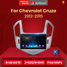Navigation Gps Multimedia Car-Radio RDS Android 10.0 Junsun V1 Chevrolet Cruze Video-Player