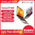 Новейший ноутбук Teclast F7 Air 1,18 кг 14