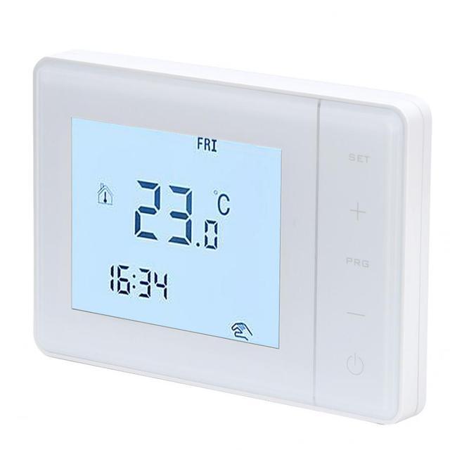 Wysokiej jakości inteligentny ekran dotykowy podgrzewany elektrycznie termostat regulator temperatury maszyna do ogrzewania w domu