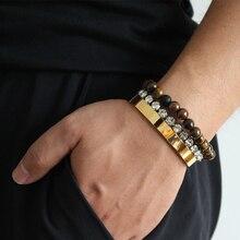 Trendy Open Bracelets for Women Silver Gold Rose Bangle Mens' Bracelet Titanium Lover Pulseiras Stainless Steel Bangles Jewelry