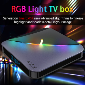 Image 5 - A95X F3 RGB Light Android 9 TV BOX 8K 4K Youtube Amlogic S905X3  wifi 2GB 4GB 16GB 32GB 64GB Set Top TV Box
