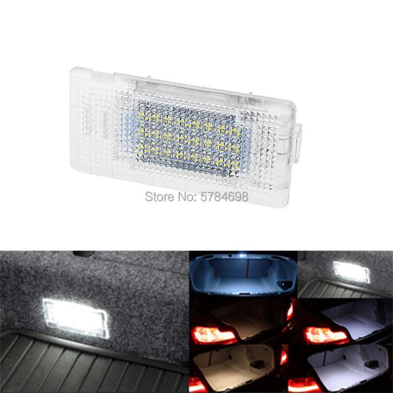 Супер-белый светодиодный светильник для багажника, 1 шт., для BMW 1-series 2-series 3-series 4-series F33 F20 F22 F30 F32
