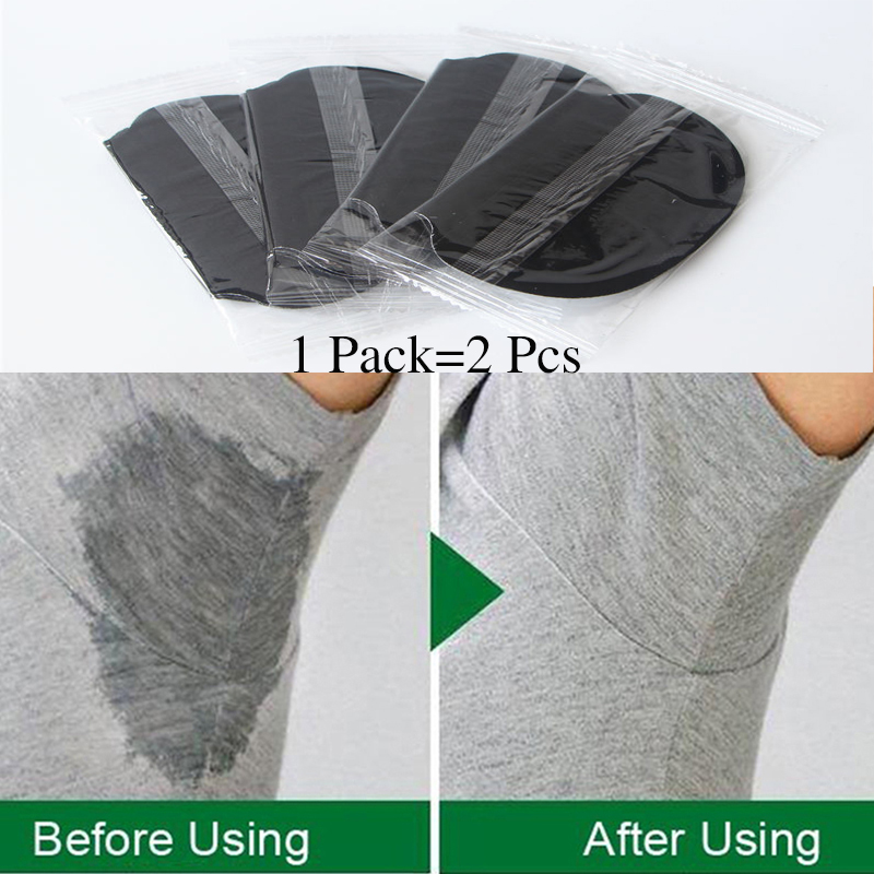 50pcs Black Armpits Care Sweat Pads Disposable Underarm Shirt Clothing From Sweat Pads Shield Absorbing Deodorant Antiperspirant