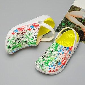 Image 2 - קיץ חיצוני מים נעליים לנשימה רשת קריק החוף מהיר יבש שכשוך במעלה הזרם קל החלקה דיג נטו מים נעל