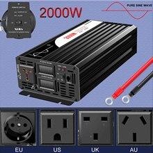 Inverter di potenza 2000W Invertitore Puro Dellonda di seno