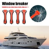 4 stücke 2 in 1 Auto Sicherheit Notfall Hammer Fenster Breaker Leben Saving Flucht Fenster Glas Breaker Werkzeug