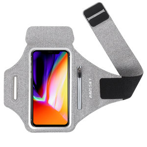 Карман на молнии для спорта, бега, нарукавники, чехол для Airpods 2, ремень Poch на руку для iPhone X 7 11 Pro Max, samsung Note 10 Plus, Xiaomi
