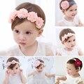 2019 корейские обручи для волос для маленьких девочек, ткань для новорожденных, фотографированные украшения «сделай сам», Детские аксессуары...
