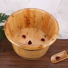 Wood-Bucket Soaker Foot-Basin Washing-Massage Cedar Spa Durable for Women Strong