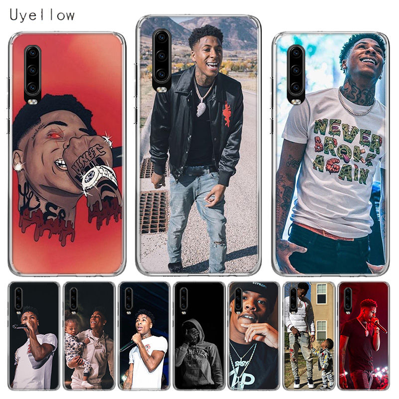 Uyellow Phone Case For Huawei P10 P20 P30 Lite Pro Hawei Mate 10 20 lite P Smart 2019 YoungBoy Never Broke Again Lil Baby