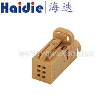 O envio gratuito de 2 conjuntos 6pin cabo de fiação automática plugue do conector do chicote de fios 1534121-2
