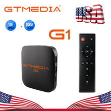 GTMEDIA G1 TV Box Android 7,1 1G 8G Amlogic S905W Quad Core 2,4G Wifi HD de Youtube 4K Google Player Pk x96 max h96 android tv box(China)