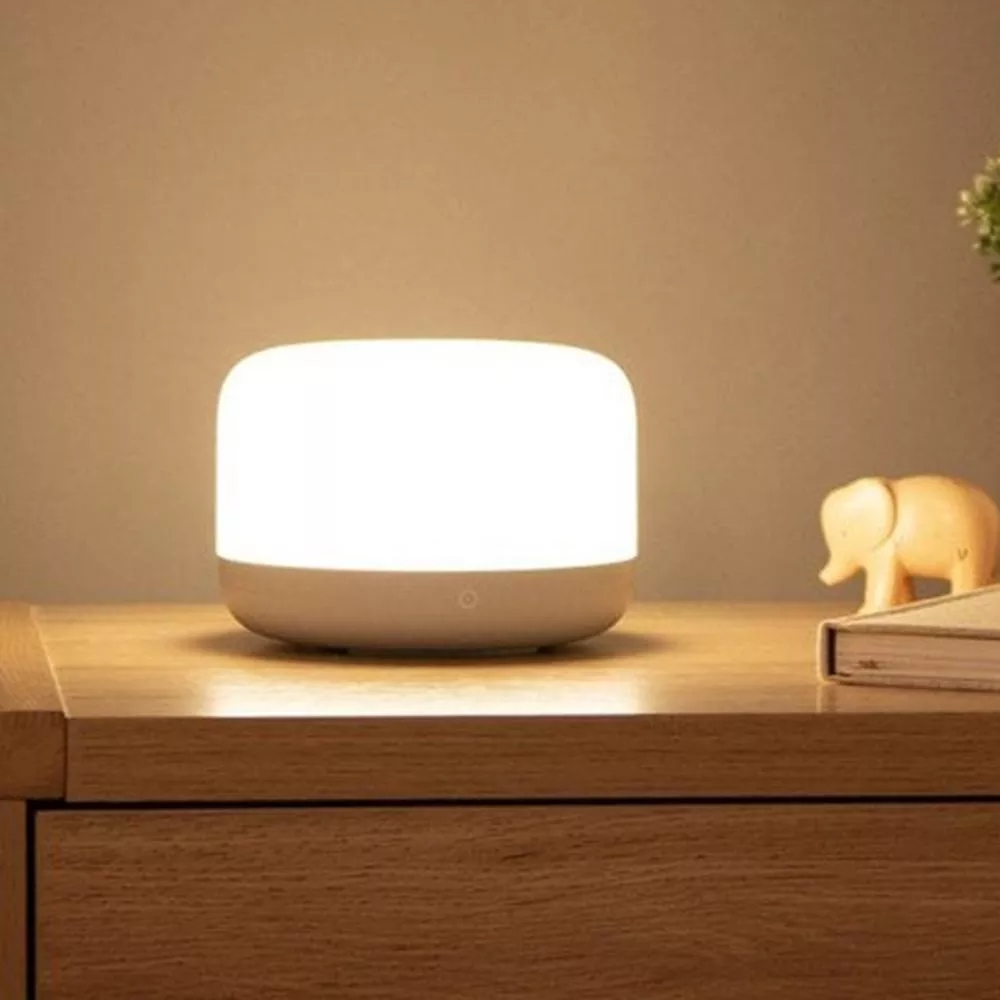 Image 3 - Xiaomi mijia Yeelight YLCT01YL Colorful LED Smart Mi Bedside Lamp  Intelligent Dimmable Night Light APP Control work with HomeKitSmart  Remote Control