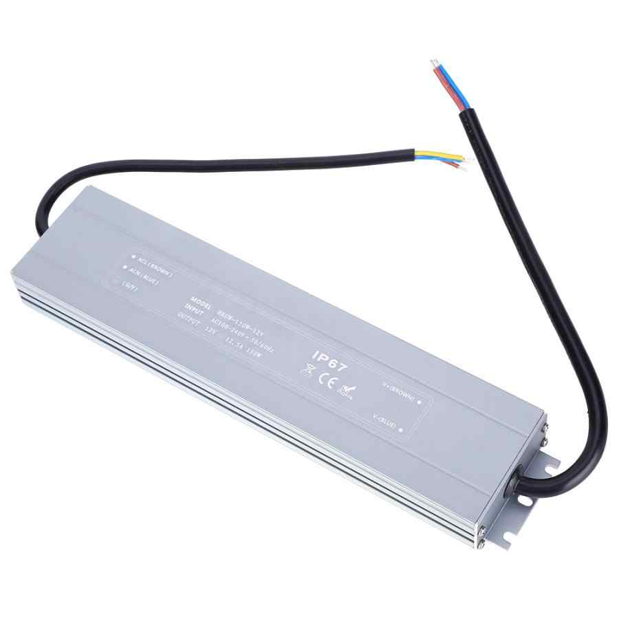 LED Netzteil 100-264VAC IP67 Wasserdichte Led-treiber Transformator HRUW-150W-12V