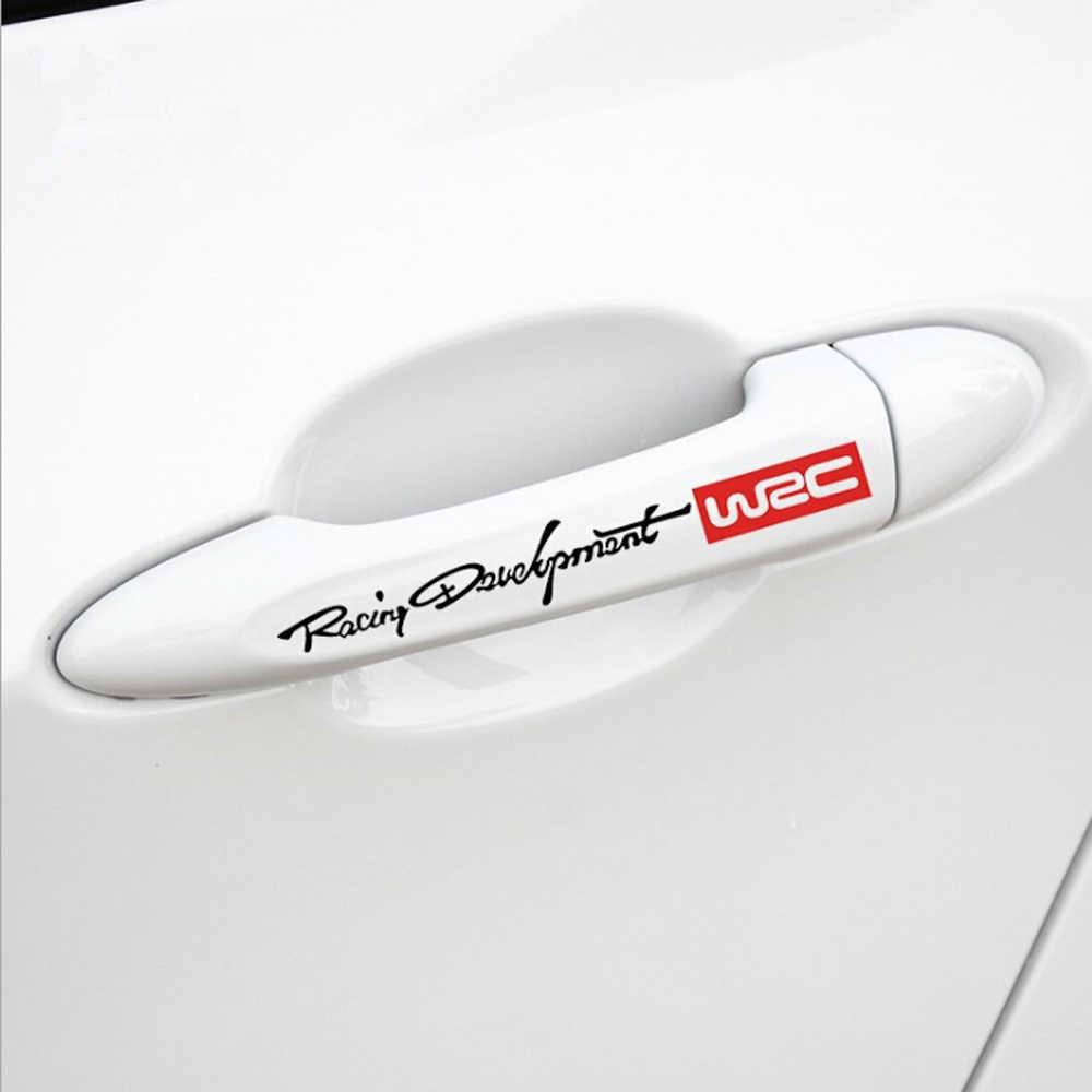 רכב ידית דלת רעיוני מדבקות עבור BMW 1 2 3 4 5 6 7 סדרת E46 E52 E90 X1 X3 x4 X5 X6 F01 F07 F09 F10 F15 F20 F30 F35 F30