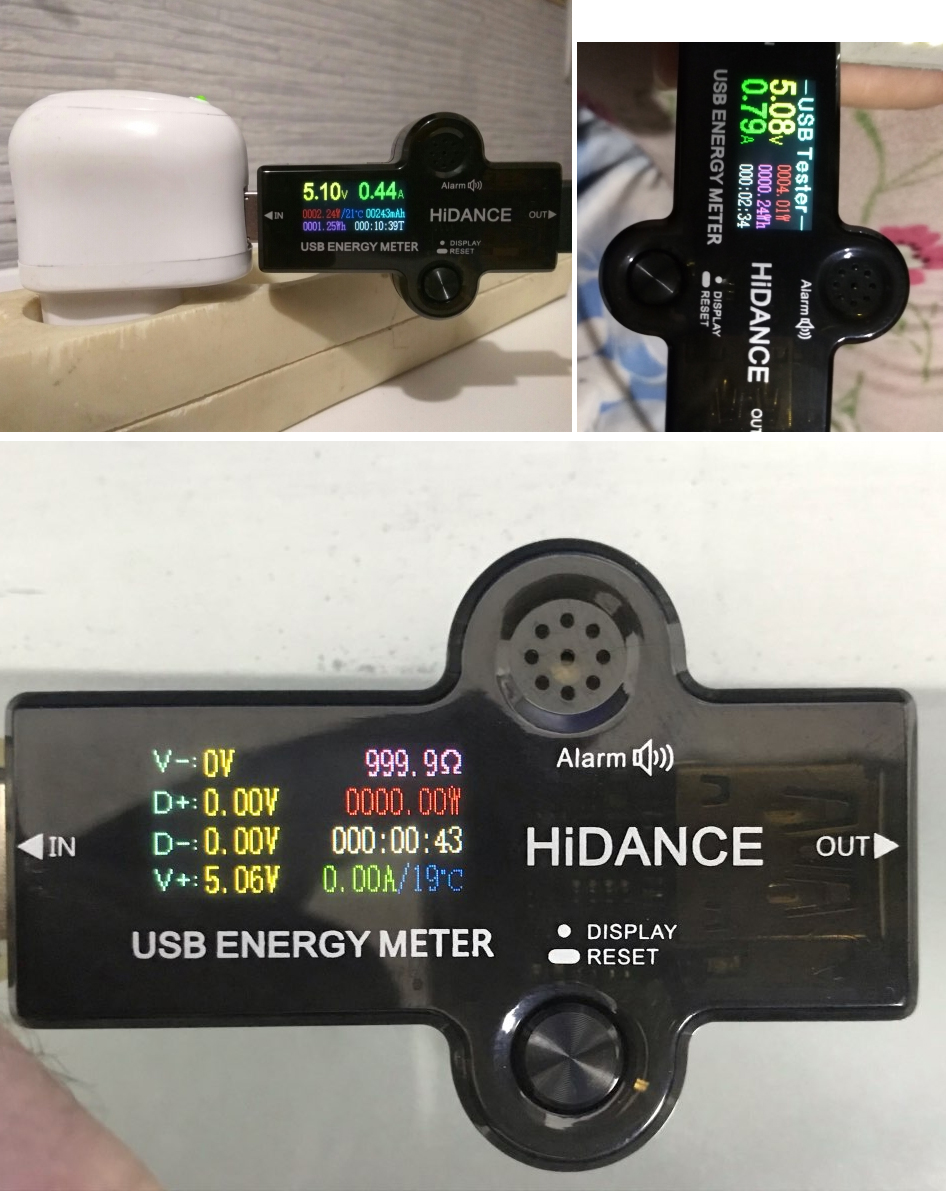 Hf6f0bd6c74de459f83a5fd92ca885e7b2 USB 3.0 TFT 13in1 USB tester APP dc digital voltmeter ammeter voltimetro power bank voltage detector volt meter electric doctor