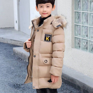 Image 5 - 2020 New Winter Clothing Boys 4 Keep Warm 5 Children 6 Autumn Winter 9 Coat 8 Middle Aged 10 Year 12 Pile Thicker Cotton Jacket