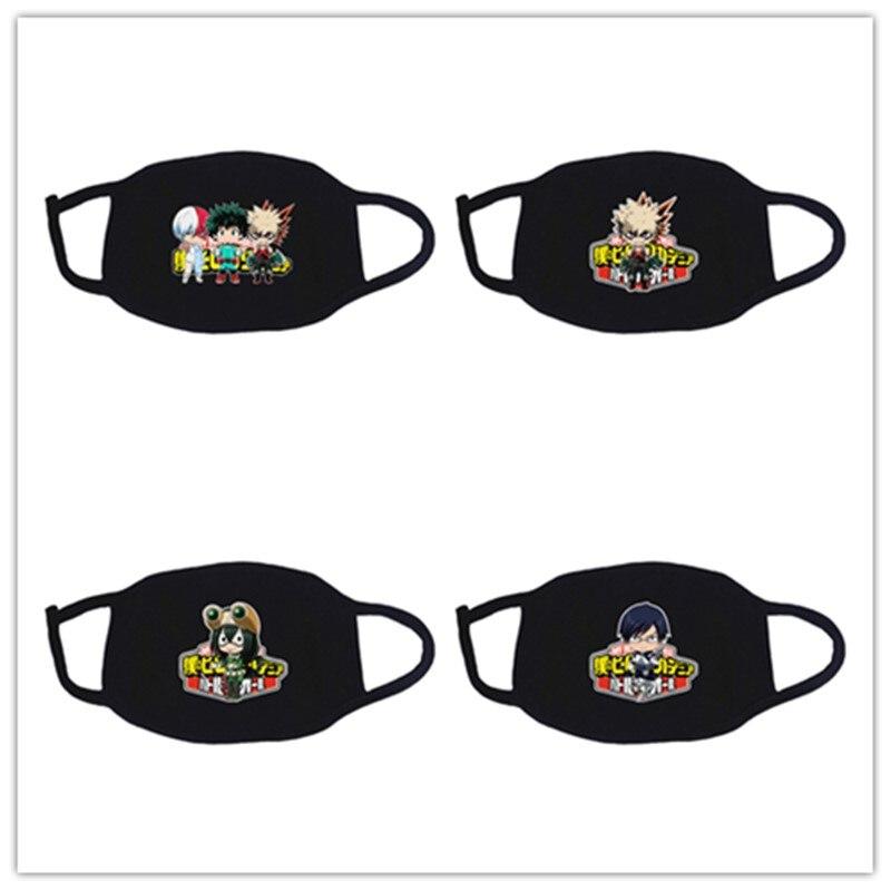 Anime My Hero Academia Midoriya Izuku Deku Cosplay Masks All Might Boku No Hero Academia Cotton Half Face Street Sports Mask