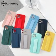 Coque de téléphone en Silicone liquide avec dragées, couleur bonbon, pour iPhone 12 Pro Mini 11 Pro Max X XR XS Max 7 8 Plus SE 2020