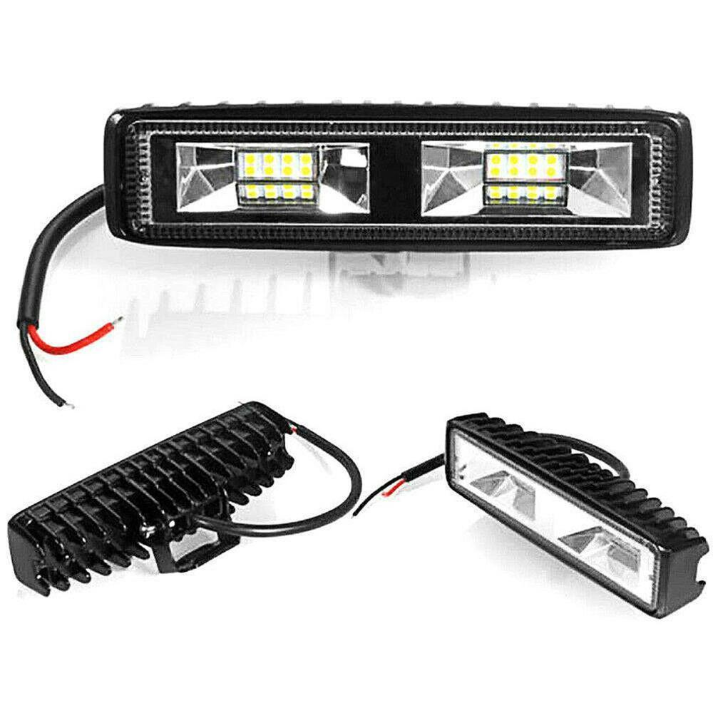 Светодиодный светильник s 12-24V для авто мотоцикла грузовика лодки трактора прицепа внедорожный рабочий светильник 36W Светодиодный светильн...