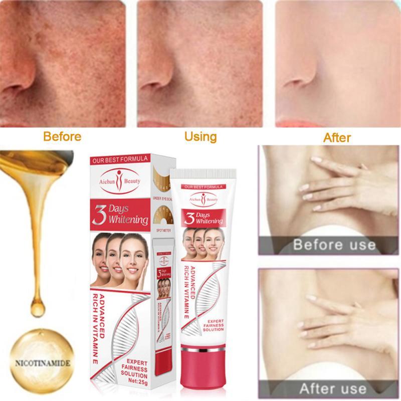 Korean Facial Brightening Cream Concealer Whitening Cream For Armpit Elbow Knee Lightening Underarm Inner Thigh Cosmetics TSLM1