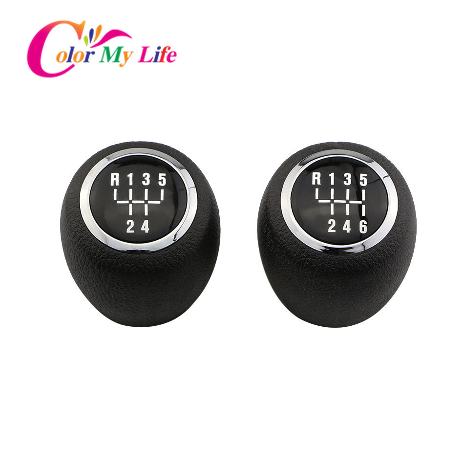 lowest price Color My Life Manual 5 6 Speed Gear Shift Knob Gear Head Knobs for Chevrolet Cruze Sedan Hatchback 2008 - 2014 Replacement Parts