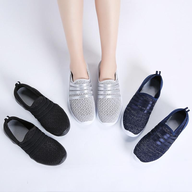STQ Women Sneakers Flat Shoes 2020